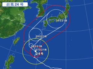 台風の予報