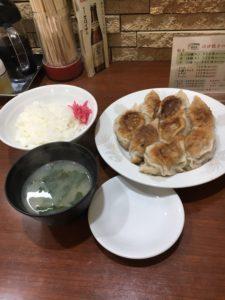 北口亭の餃子