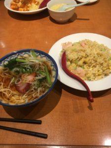 口福館の夕食