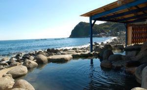 北川温泉の黒根岩風呂