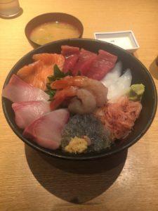 丸天の海鮮丼