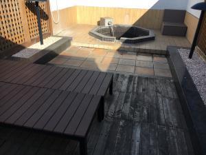 ラグナリゾートの露天風呂