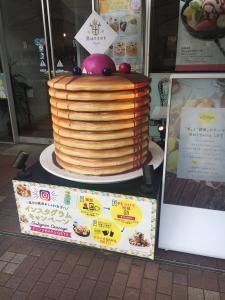 横浜のパンケーキ屋のバター