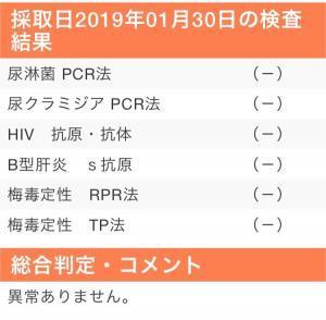 横浜クリニックでの性病検査の結果