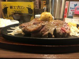 ステーキタケルの赤身肉