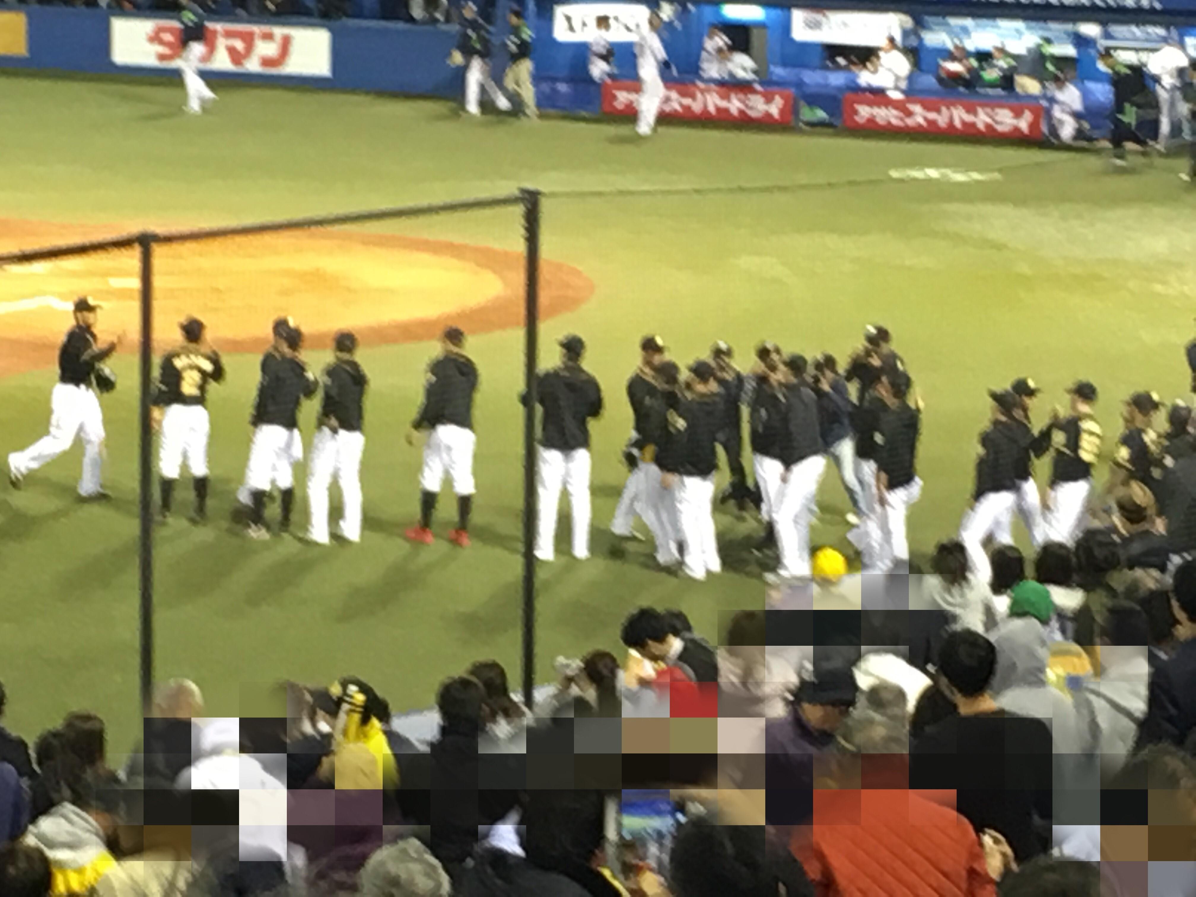 阪神タイガースの勝利の画像