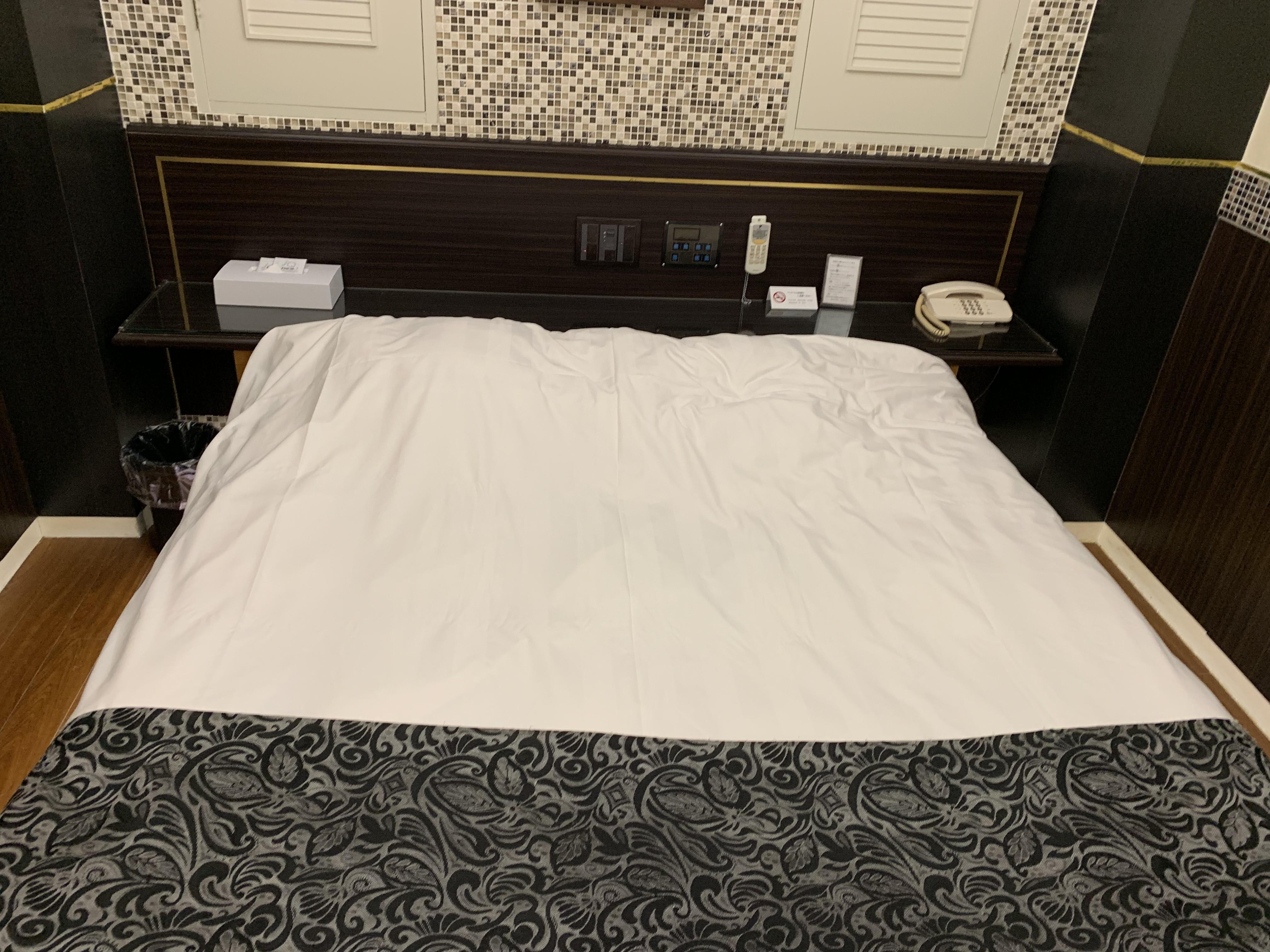 御徒町のラブホテルの部屋の画像