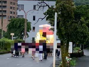 来宮の祭りの画像