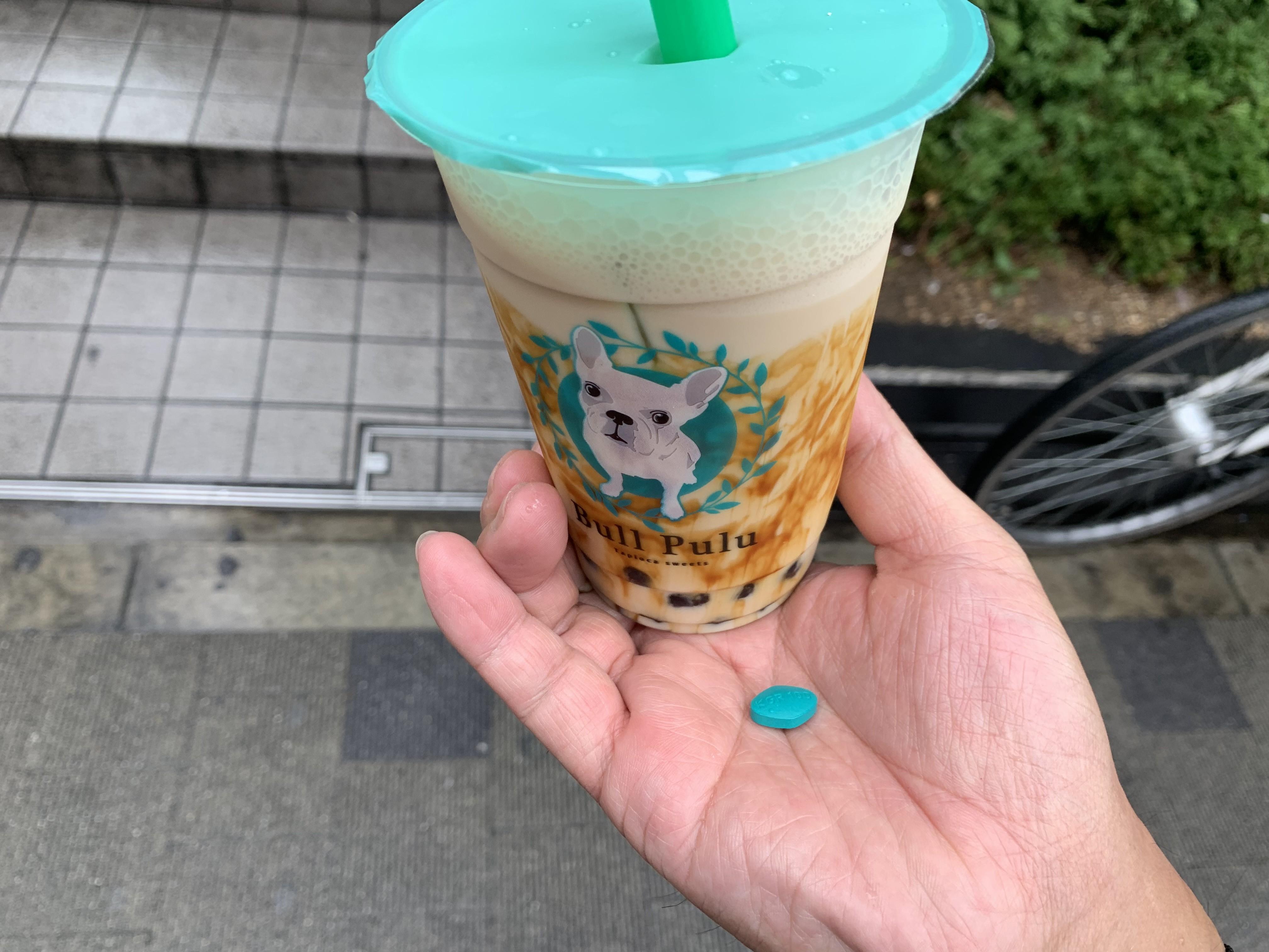新宿のタピオカドリンクの画像