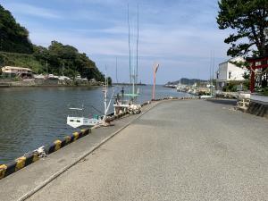 松崎町の港