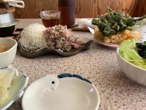 松崎町のさくらのアジのたたき定食の画像