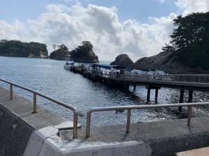 堂ヶ島マリンの船着き場の画像