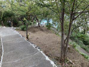 堂ヶ島ホテル天遊の遊歩道