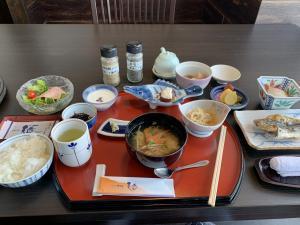 堂ヶ島ホテル天遊の朝食の画像