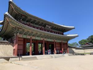 ソウルの昌徳宮の画像