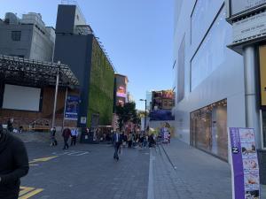 明洞の街の画像