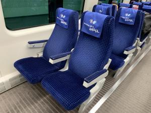 AREXの座席の画像