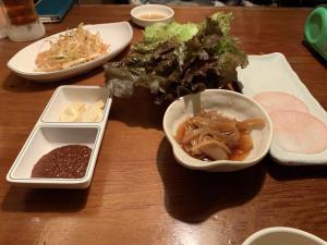 韓国家庭料理トマトの画像