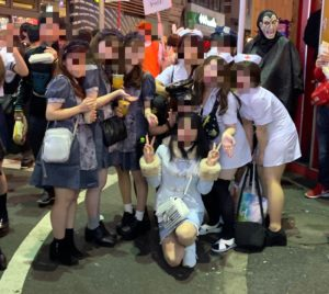 渋谷ハロウィンの画像