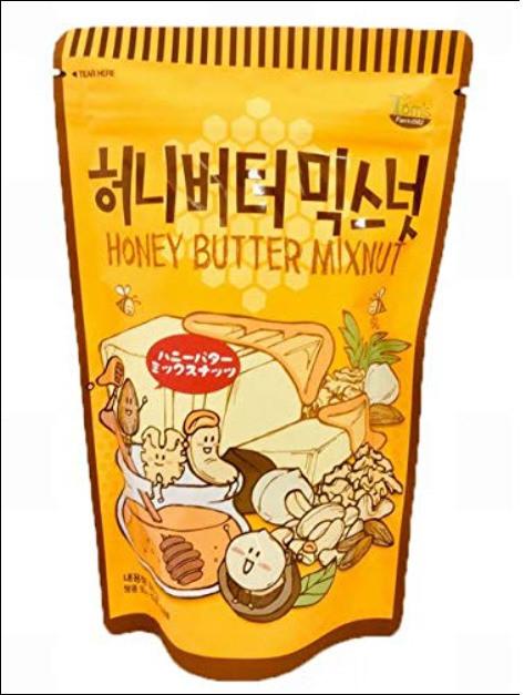 ハニーバターミックスナッツ の画像