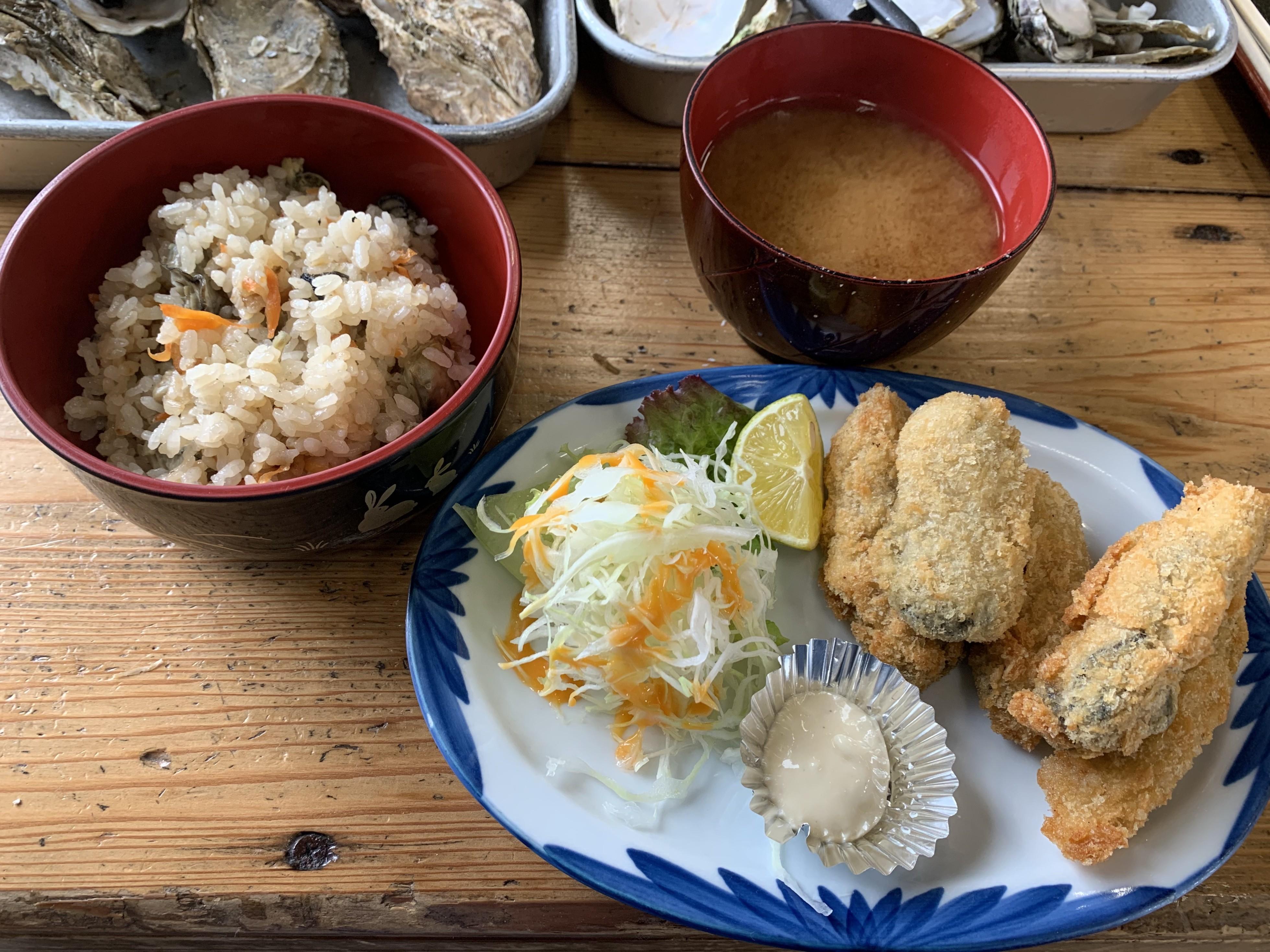 与吉屋の牡蠣の画像