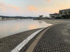 渡鹿野島のビーチの画像