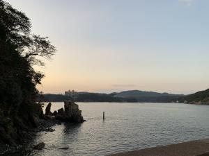 渡鹿野島の海の画像