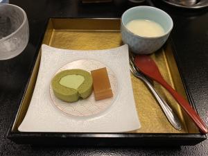 渡鹿野島の旅館福寿荘の晩御飯の画像