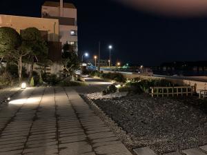 夜の渡鹿野島の画像