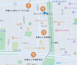 栄の矢場とんの店舗の画像