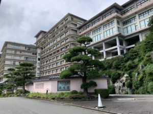 伊豆稲取の稲取銀水荘の外観の画像