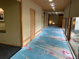 稲取銀水荘の廊下の画像