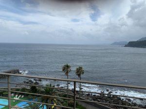 稲取銀水荘の部屋からの景色の画像