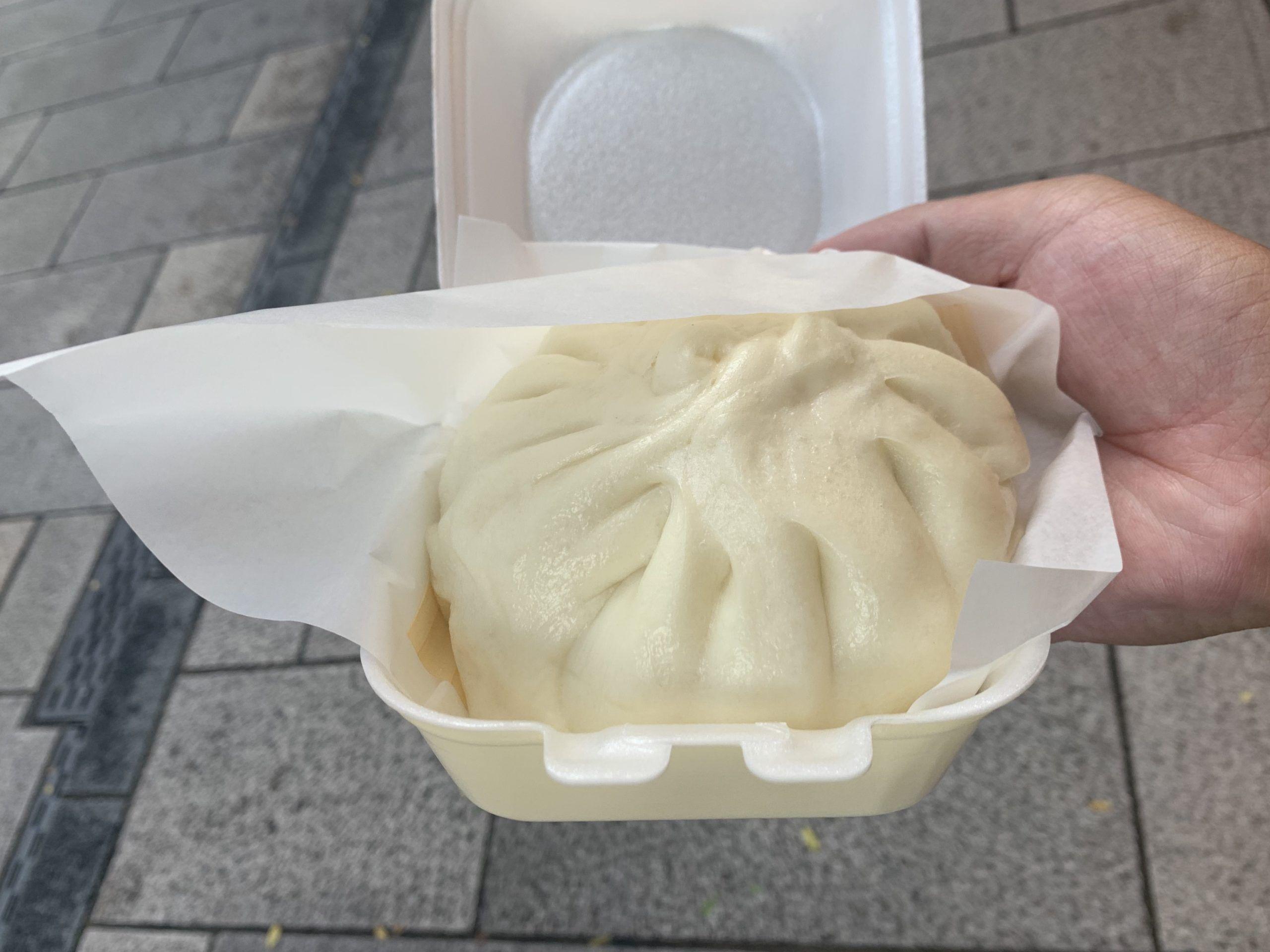 横浜中華街の肉まんの画像