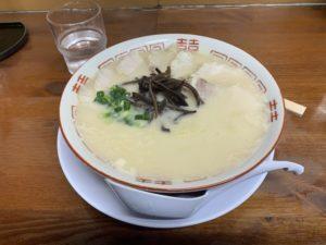 福岡の博多元気一杯のラーメンの画像